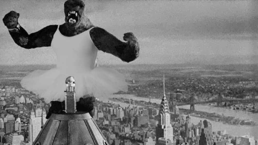 king kong tutu image mémorable